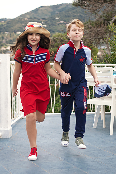 Beverly Hills Polo Club Little Girls and Boys Tall Boots Red